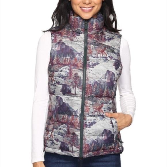 dec925b3aa New North Face Nuptse 2 Vest Yosemite Women s Sz M